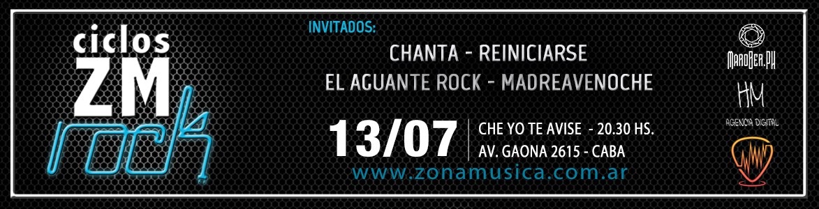 ciclos zm rock vol 6