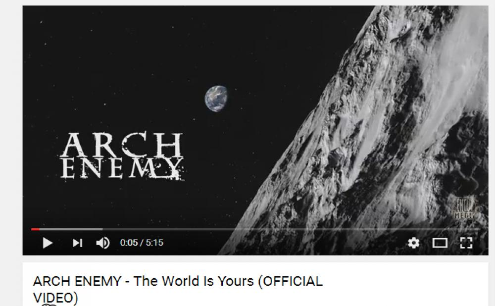 imagen de ARCH ENEMY ESTRENA VIDEO