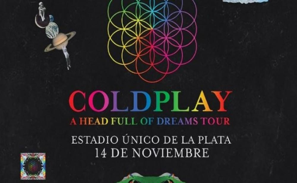 COLDPLAY ESTADIO UNICO DE LA PLATA