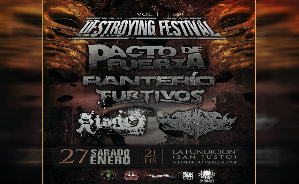imagen de RANTERIO EN DESTROYING FESTIVAL VOL. 1