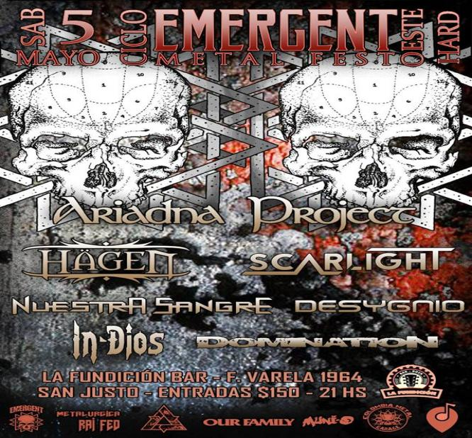 CICLOS EMERGENT METAL FEST OESTE